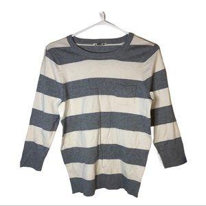 BOGO Free🌻 Denver Hayes Soft striped sweater
